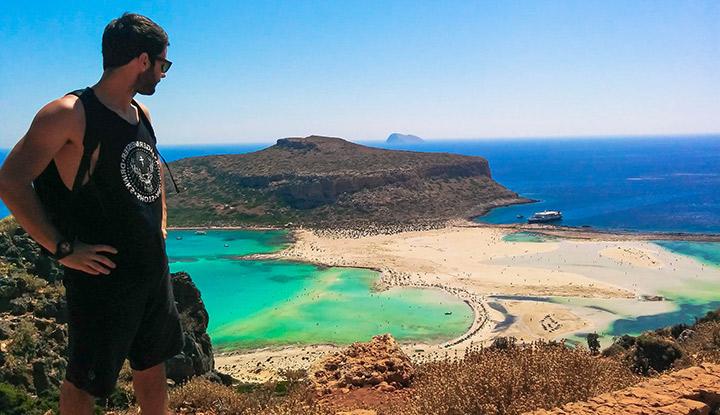 Панорама Крита.