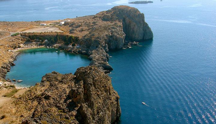 Катер в Средиземном море.