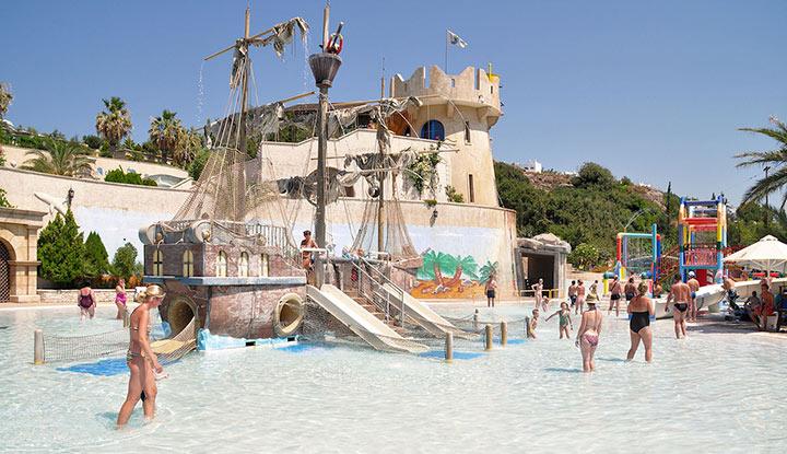 Аквапарк в Фалираки.