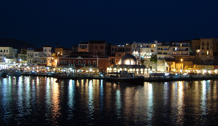 Романтика вечернего Крита просто зашкаливает. Фото: flickr.com/casanovafrankenstein