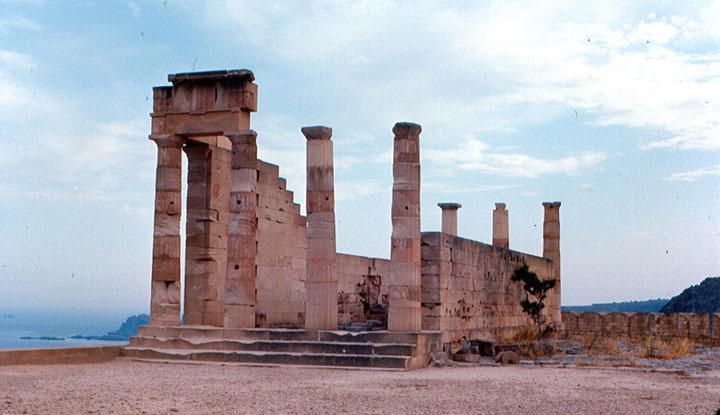 Акрополь храма Афины.