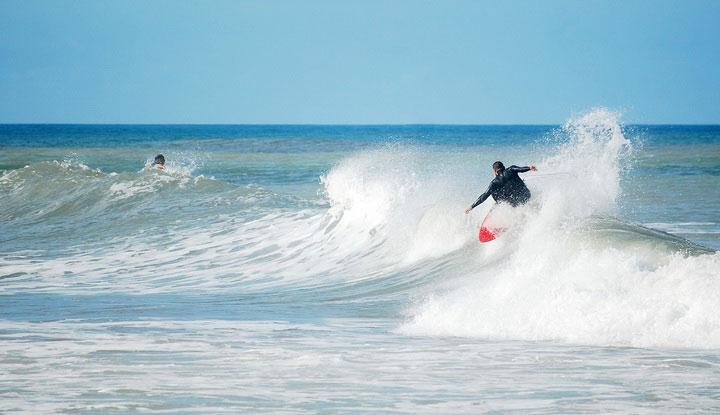 Сёрфинг в Греции.