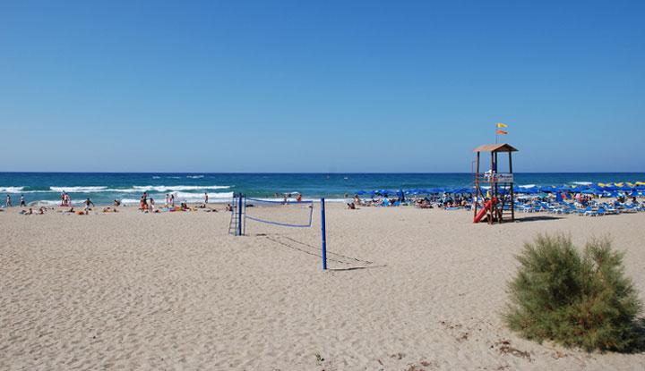 Один из пляжей Ретимно.