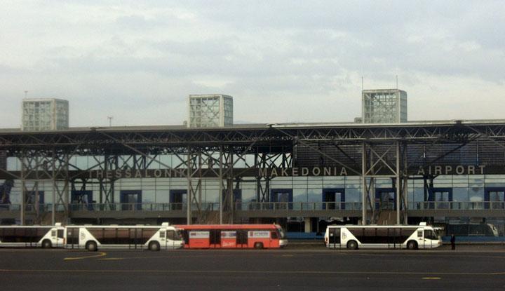 Международный аэропорт Македония.
