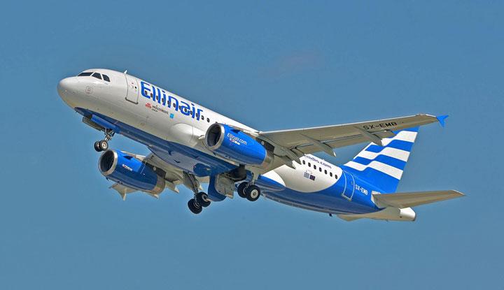 Греческие самолёты Ellinair.