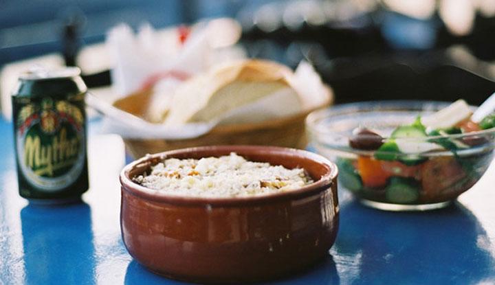 Блюда греческой кухни.