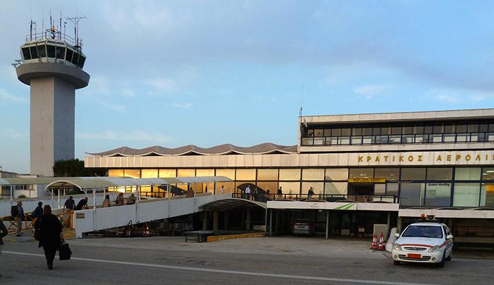 Аэропорт Керкиры.