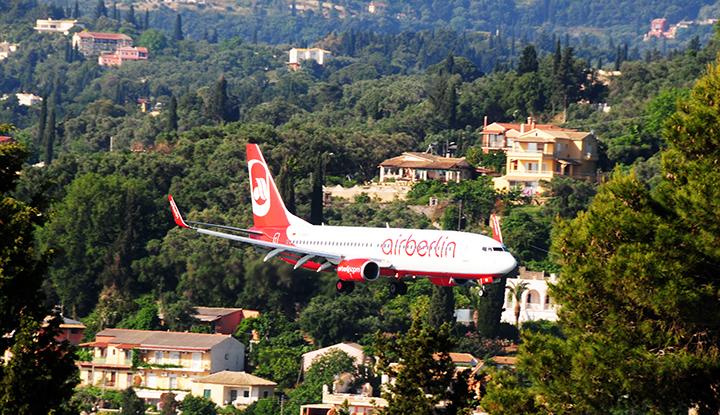 Самолёт Airberlin.