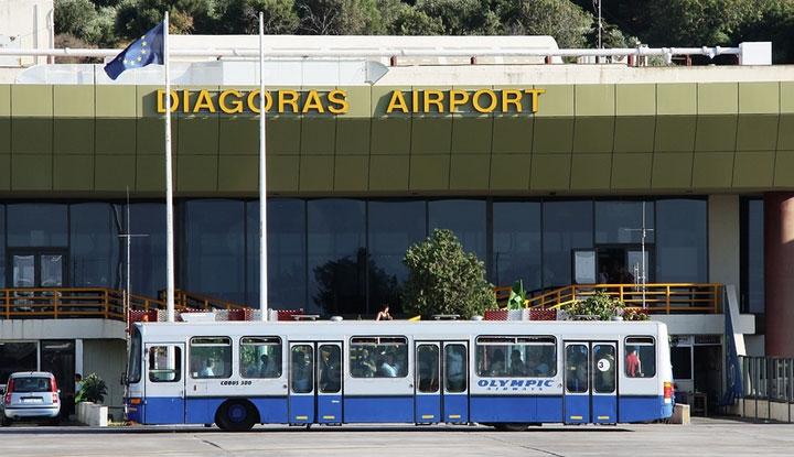 Аэропорт Родоса.