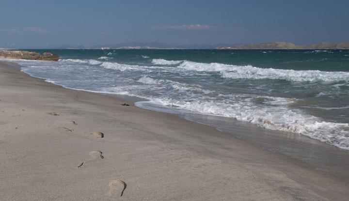 Пляж на Мармари.
