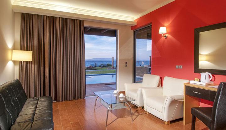 Один из номеров в отеле Arina Sand Resort.