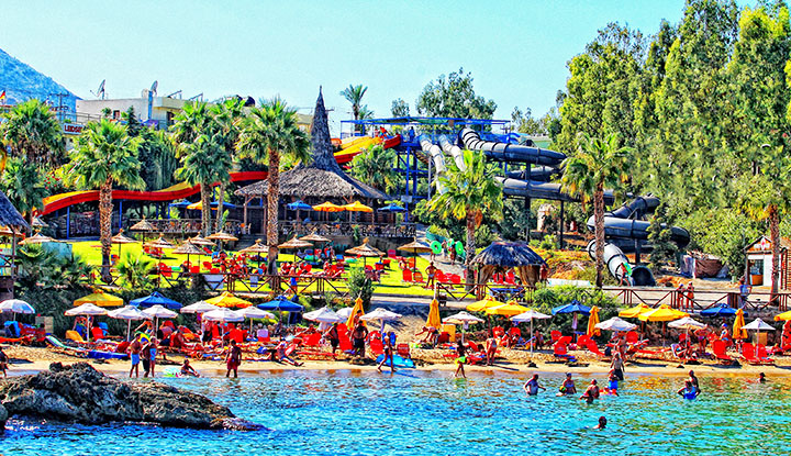 Star Beach Water Park.
