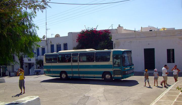 Автобус Родоса.