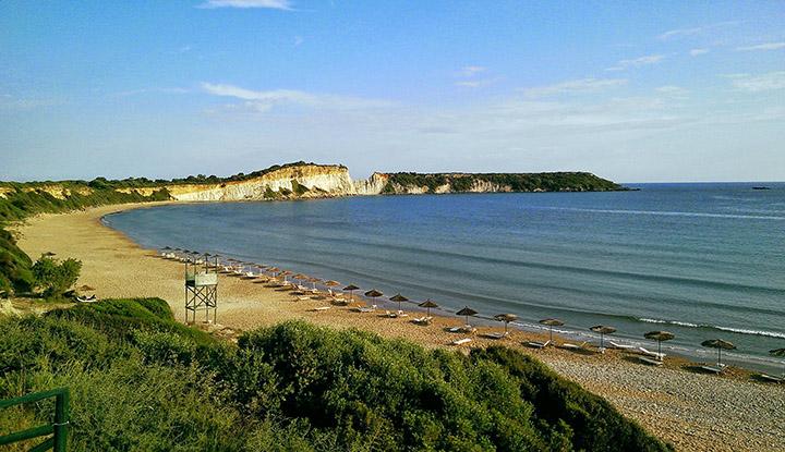 Пляж Василикоса.