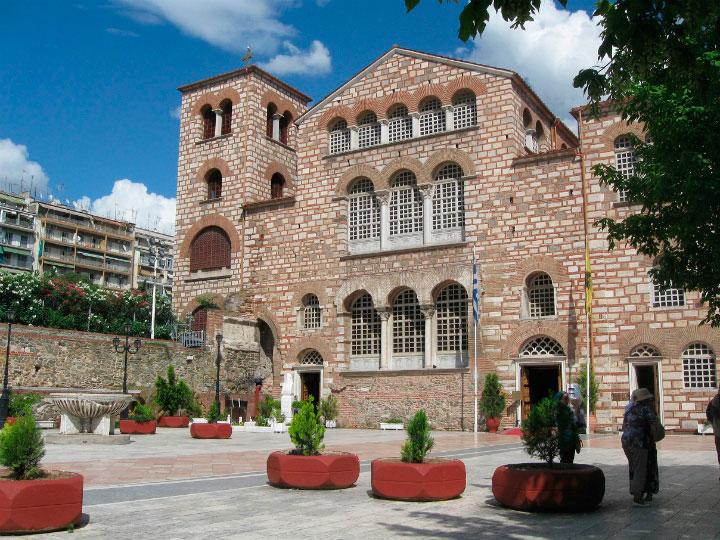 Церковь в Салониках.