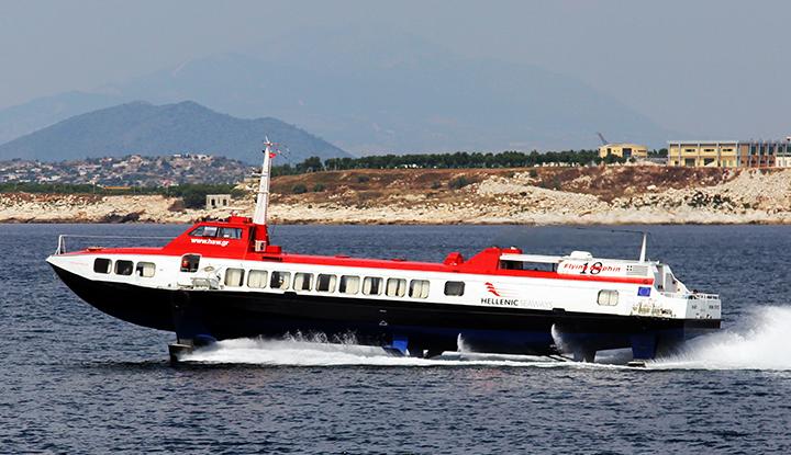 Катамаран Hellenic Seaways.