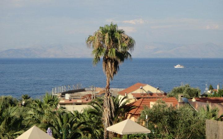 На острове Корфу.