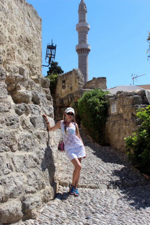 Турецкая мечеть.