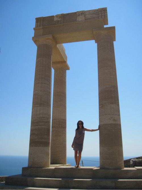Колонны Акрополя.