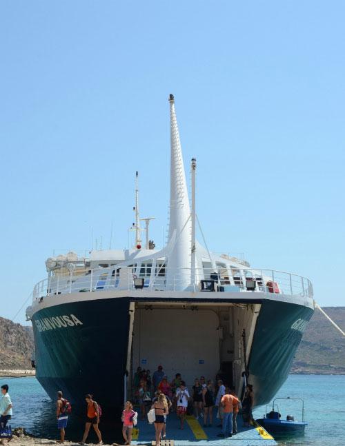 Экскурсия на корабле.