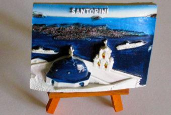 Картина Санторини.