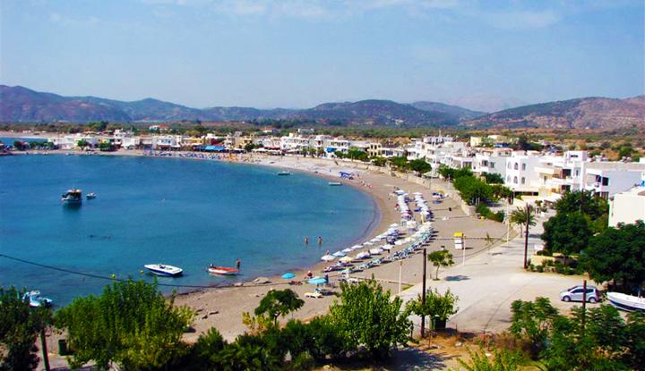 Городской пляж Фалираки.