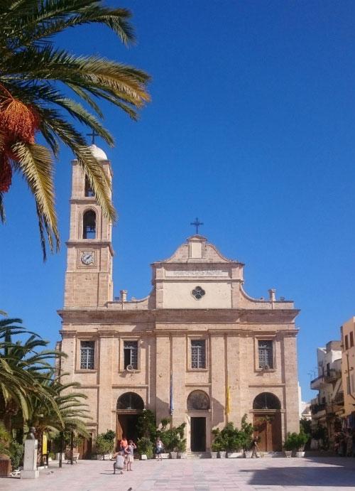 Местная церковь.