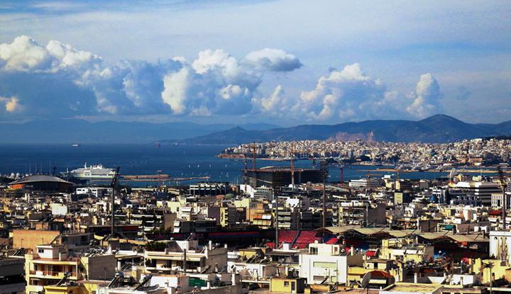 Пирейский порт.