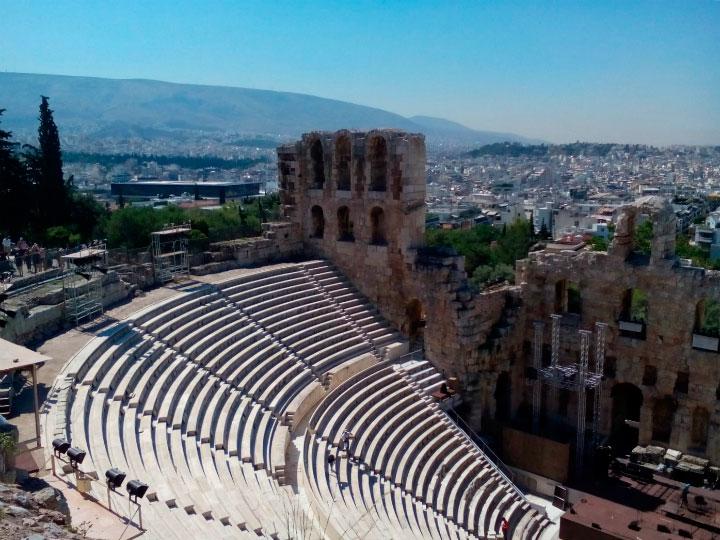 Древний театр Греции.