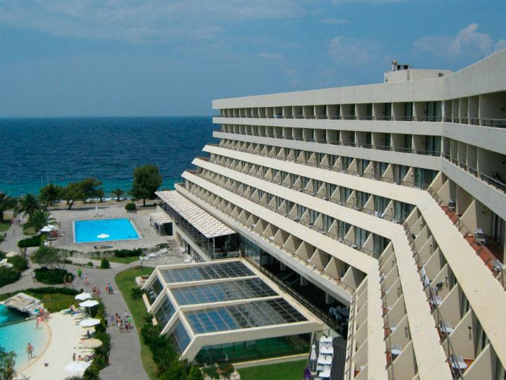 Вид из отеля.