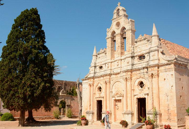 Греческий монастырь.