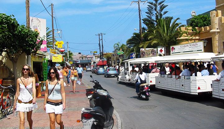 Улицы Малии.