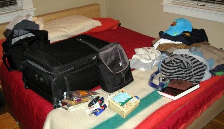 Пакуем чемоданы.