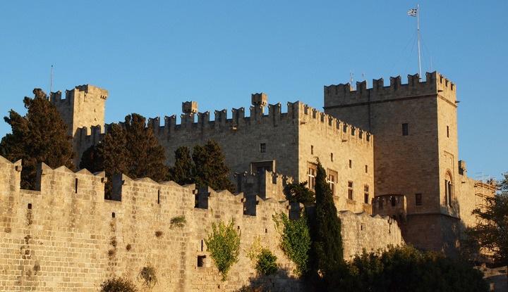 Крепость на Родосе.