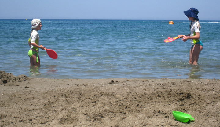 Солёное море.
