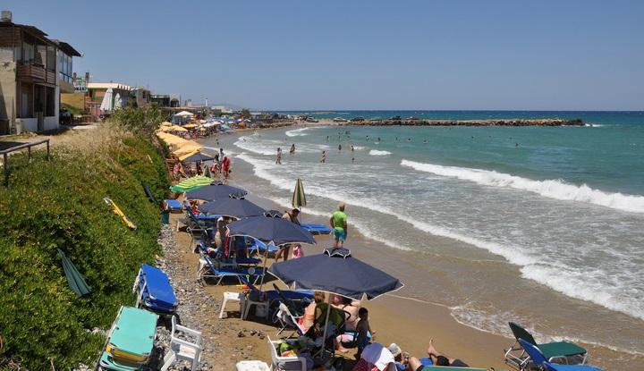 Пляжи Крита.