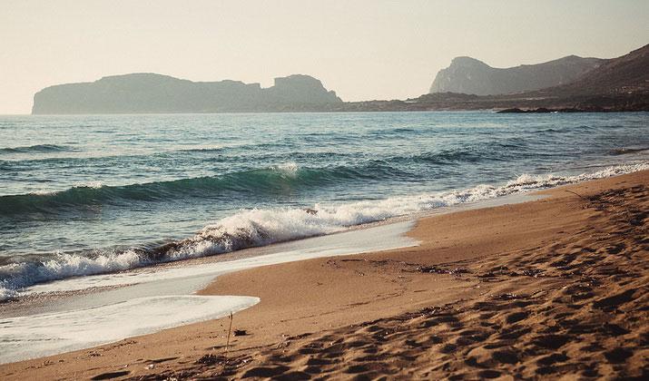 Лучшие песчаные пляжи Крита.
