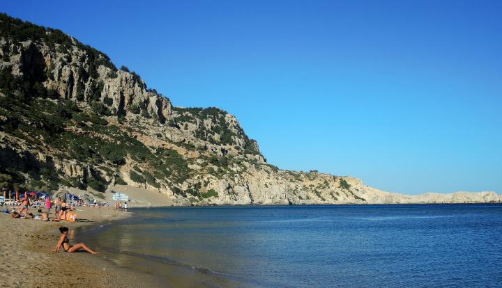 Пляжи Родоса.