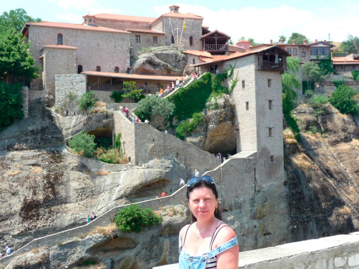 Монастырь в Метеорах.