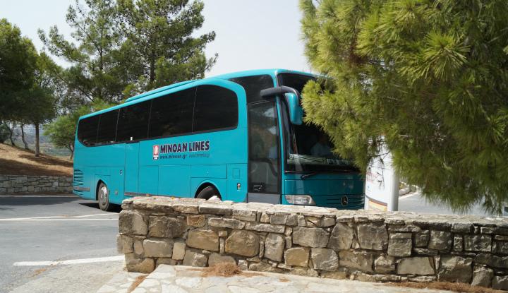 Поездка на автобусе.