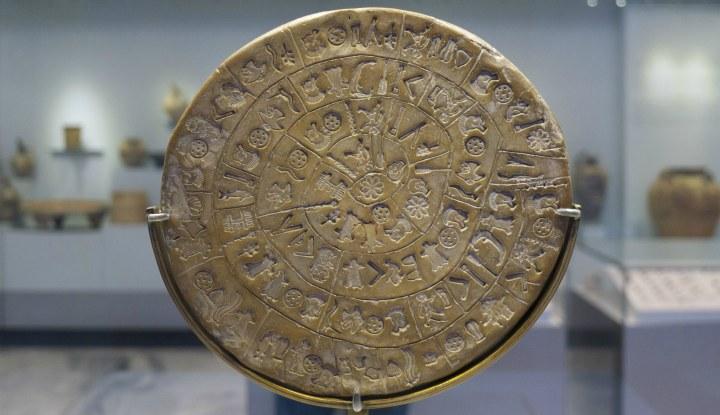 Экспонат ираклионского музея.