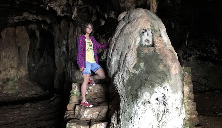 Медвежья пещера на Крите.