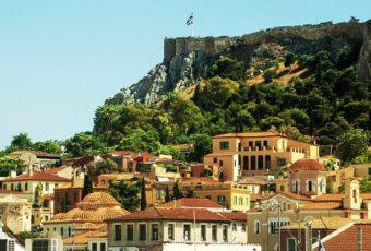 Весна в Афинах.