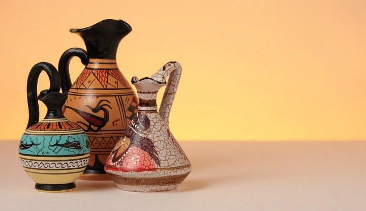 Сувениры из Афин.