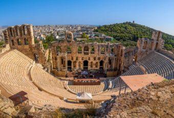 Афины в июне.