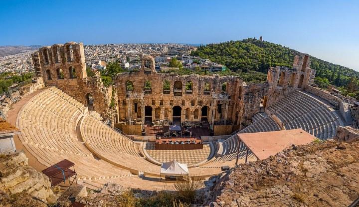 Афины в июне 2019.