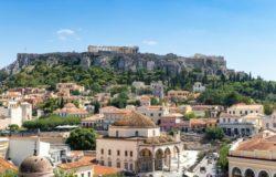 Лето в Афинах.