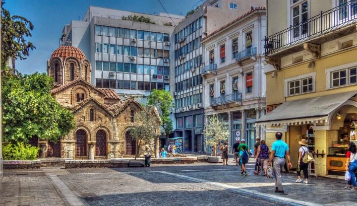 Шоппинг в Греции.