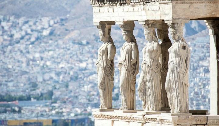 Зима 2020 в Афинах.