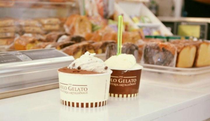 Мороженое Solo Gelato.